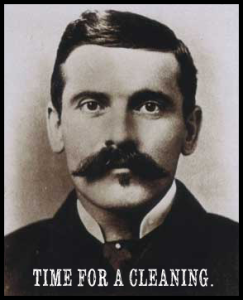Mustaches  of the OK Corral